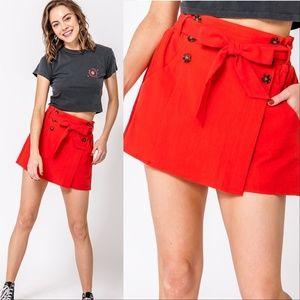 Skirt Red LILY Skort
